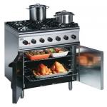 Lincat SLR9N 6 Burner Oven Range